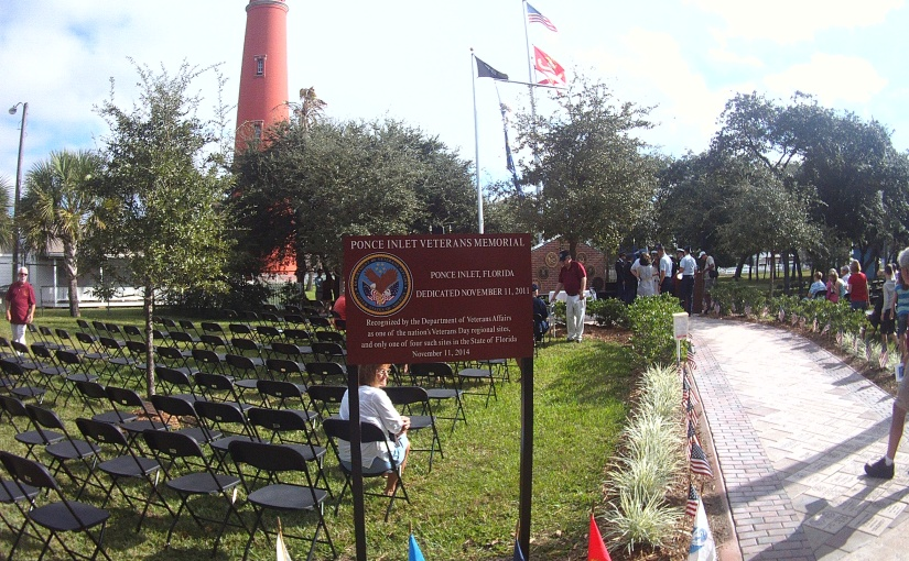 Ponce Inlet 11/11/15 VeteransDay